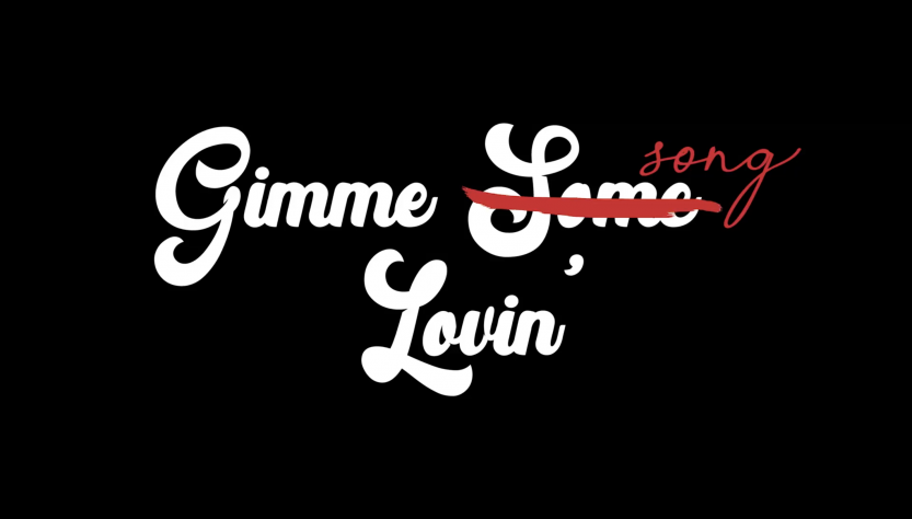 GIMME SONG LOVIN